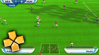 FIFA 2010 World Cup PPSSPP Gameplay Full HD / 60FPS
