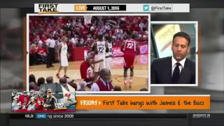 ESPN FIRST TAKE -   KEVIN DURANT SAYS JAMERS HARDEN IS NOT