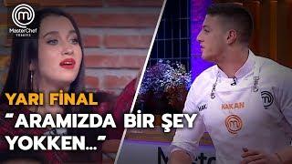 Eslem ile Hakan arasında 'aşk' tartışması!  | Yarı Final | MasterChef Türkiye