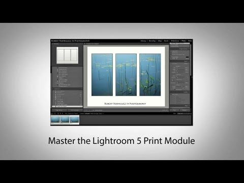 Master the Lightroom 5 Print Module