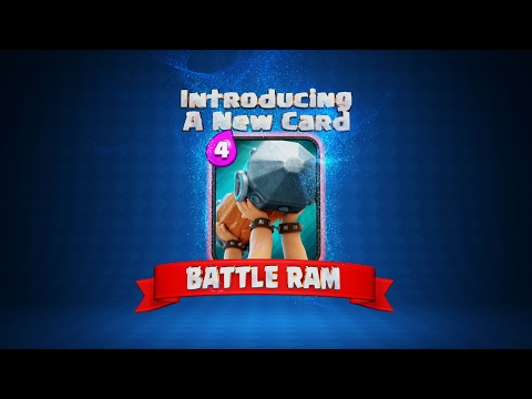 Clash Royale: The BATTLE RAM! (New Clash Royale Card!)