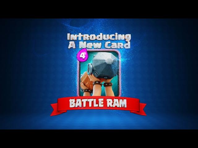 Clash Royale: The BATTLE RAM! (New Clash Royale Card!)