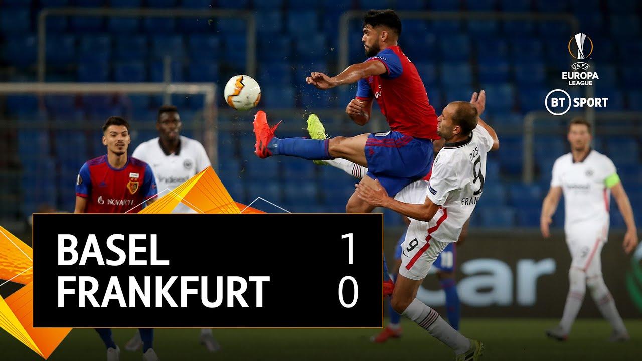 Basel vs Frankfurt (1-0) | UEFA Europa League Highlights