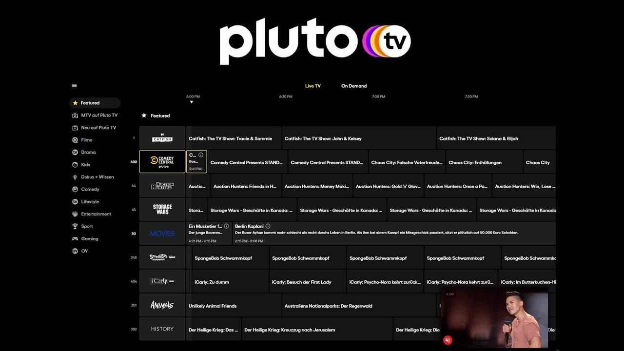 Download Pluto TV (Das Große Tutorial) Kostenlos Live-TV & Video On Demand anschauen