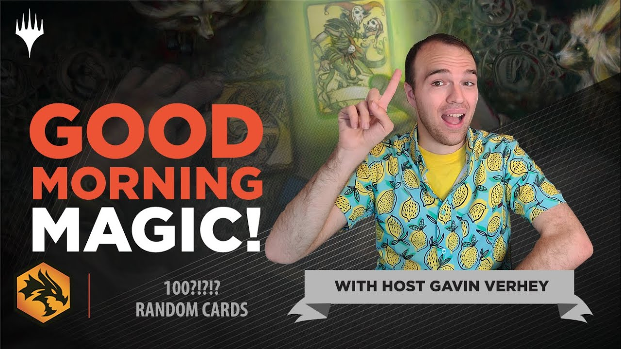 ONE HUNDRED Random Cards!?! Design Stories of 100 Cards you Asked About!   Good Morning Magic