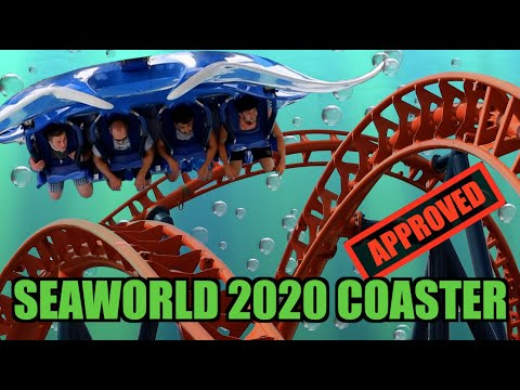 SeaWorld Orlando's NEW ROLLER COASTER ICE BREAKER - I Almost Forgot