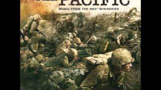 The Pacific blu-ray menu music. By Hans Zimmer