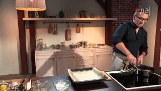 Треска в картофельной панировке с соусом тартар