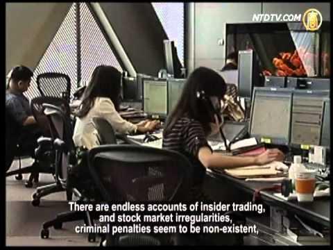 Stock Market Declin in Shanghai