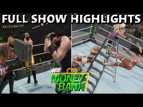 Download WWE 2K19 MONEY IN THE BANK 2019 FULL SHOW PREDICTION HIGHLIGHTS