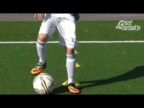 dạy đá bóng: kiểm soát bóng