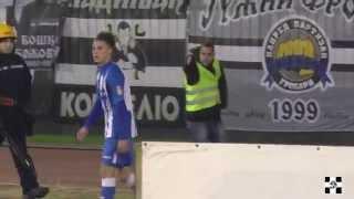 Dražić GROBAR pred Jugom / Partizan -Ofk Beograd 29.10.2014