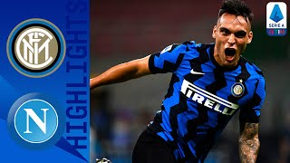 Inter 2 0 Napoli Inter move back into second place on the table Serie A TIM
