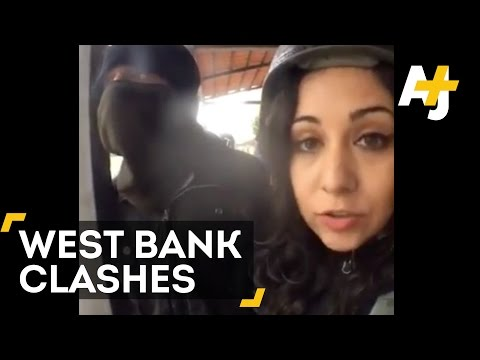 AJ+ Raw Coverage: Clashes In The West Bank | Direct From With Dena Takruri - AJ+