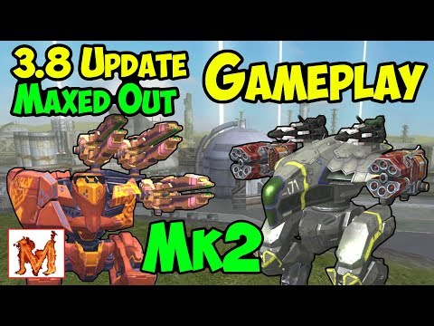 War Robots New 3.8 Gameplay Mk2 Flux, Ballista & Raven 3 Hours WR