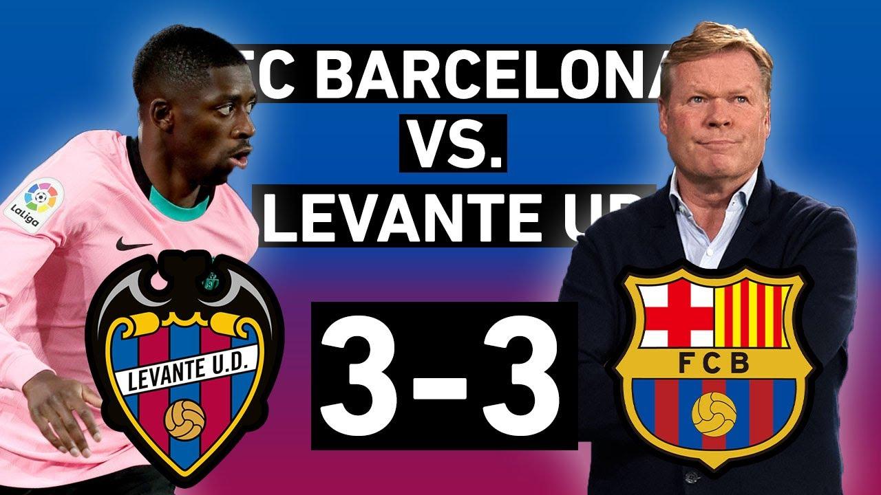 Barcelona vs. Levante 3-3 | Poor second half dooms title hopes | La Liga Review