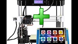 ✅ 3. Новинка! Сенсорное управление любым 3D принтером!