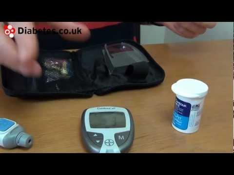 Bayer Contour Blood Glucose Meter Tutorial Funnycat Tv