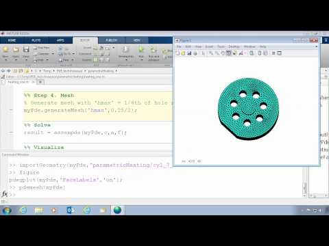 3D Finite Element Analysis with MATLAB - YouTube