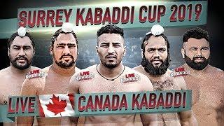 LIVE Surrey Kabaddi Cup 2019 CANADA KABADDI