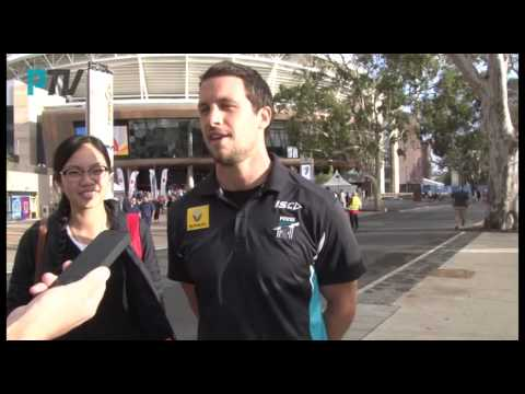 PTV: Adelaide Oval bridge opening with Travis Boak