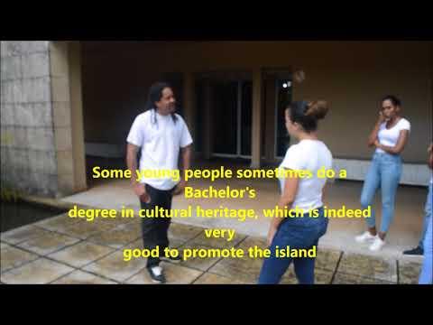Interview guide écotouristique film au Domaine d'Emeraude (Martinique)