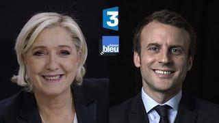 Présidentielle 2017 - Marine Le Pen invitée de France 3 et de France Bleu