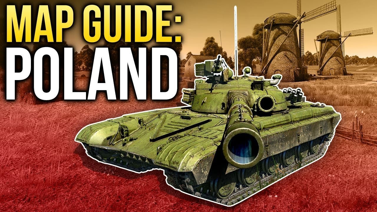 War Thunder Map Guide Poland Youtube