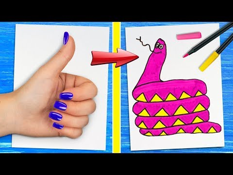 12 Ideias Incríveis Para Desenhos