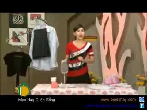 Cách ủi quần áo