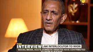 The Interview: J&K interlocutor Dineshwar Sharma discusses about the basic problem of Kashmir