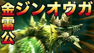【モンハンXX】金雷公ジンオウガ討伐【Nintendo Switch】