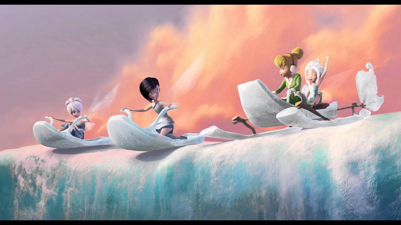Tinker Bell y el Secreto de las Hadas: Deslizándose por el