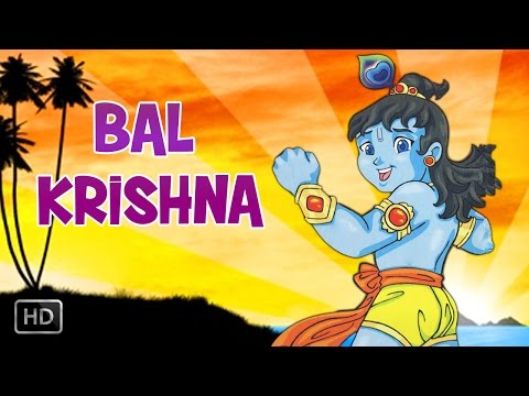 Bal Krishna Birth Childhood Days Of Lord Krishna Animated Full Movie Stories For Kids Youtube
