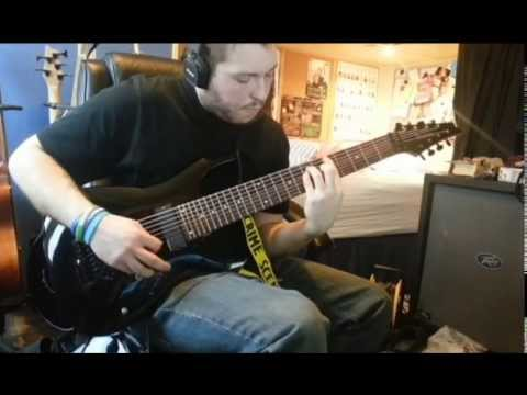 Deftones - Gauze 8 string guitar cover (Koi No Yokan)