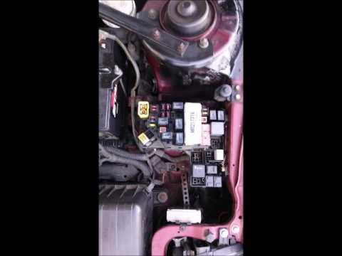 2000 Mitsubishi Eclipse GT 3 0 External Fuse Box Exact Photos - YouTube