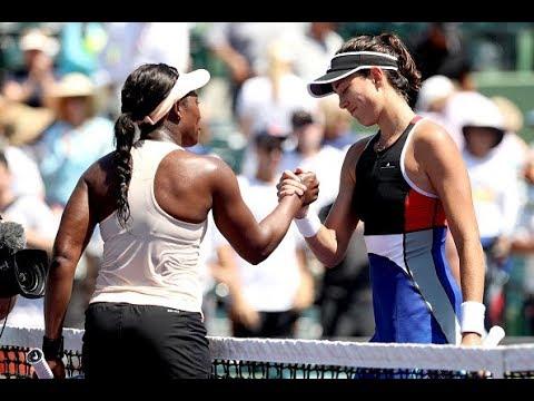2018 Miami Fourth Round | Sloane Stephens vs. Garbiñe Muguruza | WTA Highlights