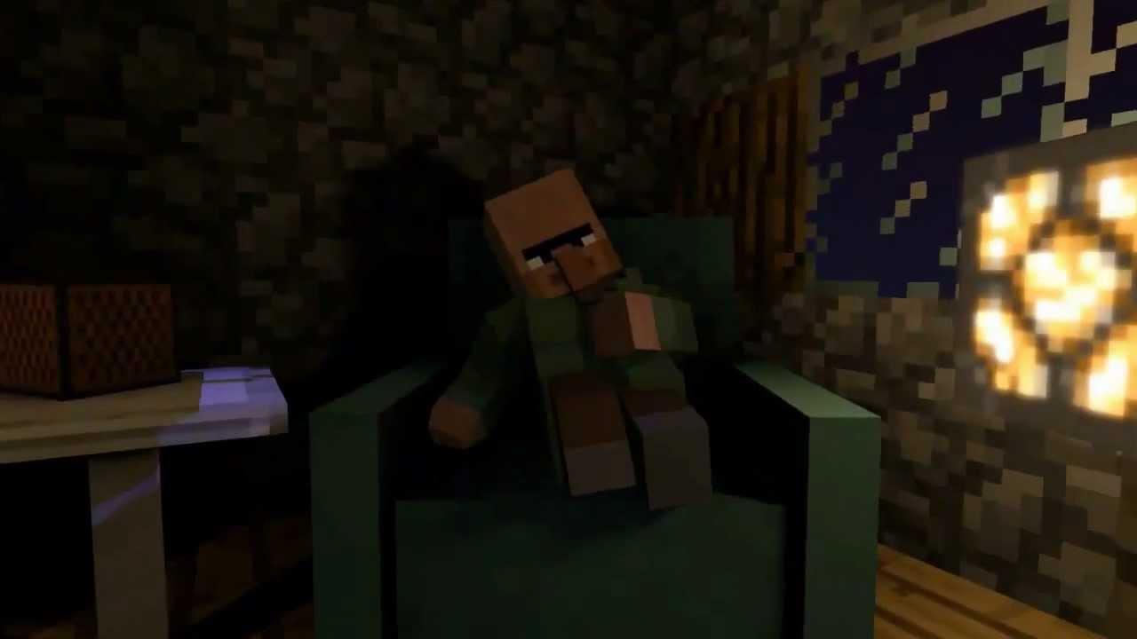 Minecraft Animación - Una noche novedosa - YouTube