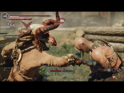 Ryse Son of Rome Gladiator Mode on Oasis (Glott Skin)