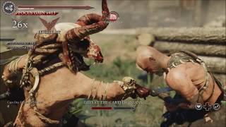 Ryse Son of Rome Gladiator Mode on Oasis (Glott Skin)