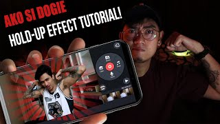 Phone Edit! Dogie Hold UP Effect Tutorial! Ako si Dogie Edit Tutorial!
