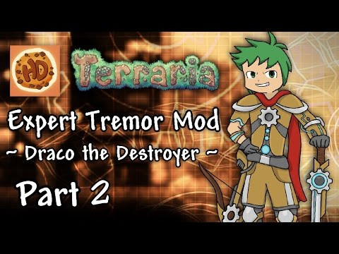 Terraria's New FROSTBITE ARMOR | 1.3 Expert Tremor Mod Let's Play Part 2