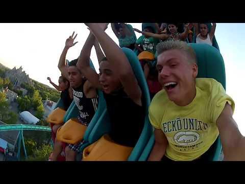 Leviathan Front Seats at Canada's Wonderland GoPro