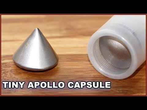 Apollo space capsule stability tests - Supersonic Small Scale Project