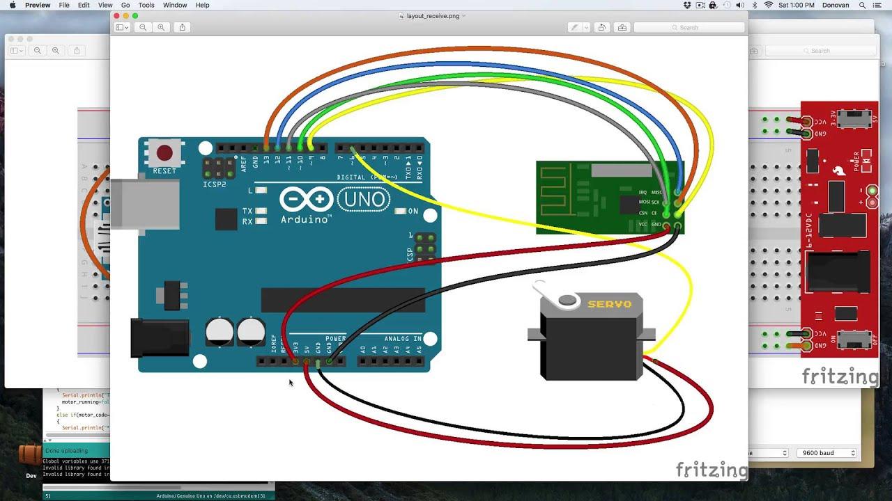 Wiring A Fan Motor Diagram Diagrams Isuzu Npr Condenser How To Use Nrf24l01 Arduino Remotely Control