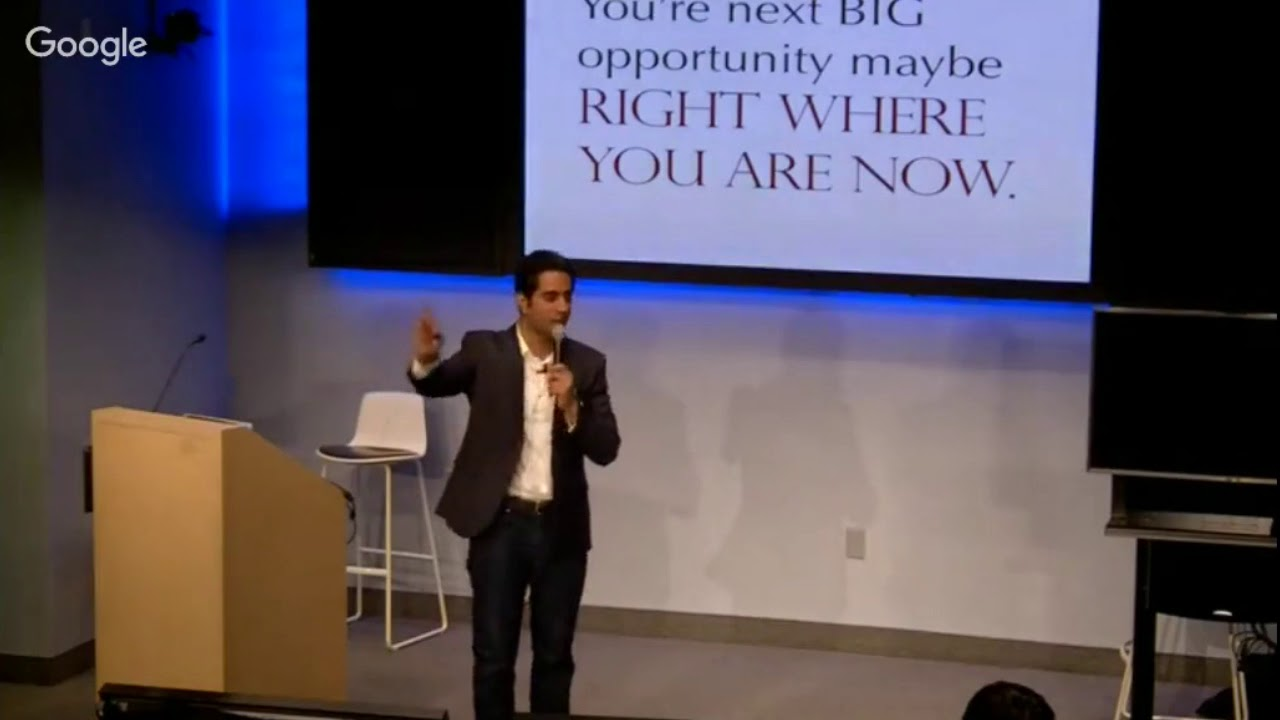 Your next BIG opportunity? | Talks at Google