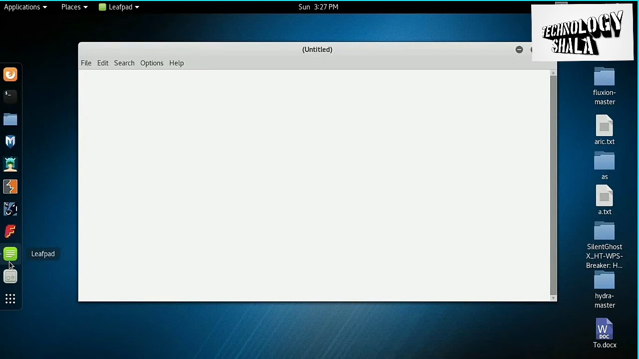 How to Encrypt And Decrypt Any File in kali linux Without Any software
