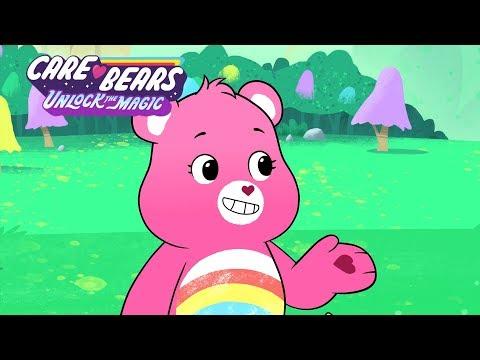 Care Bears Unlock The Magic | Cheer Bear, Leader and Pilot of the Cloudseeker