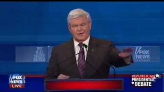 Newt Gingrich to Juan Williams: Americans Want Paychecks, Not Foodstamps