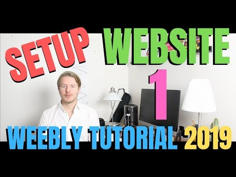 How to Build a Business Website for Free (Part 1) - Weebly Tutorial For Beginners 2019